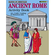 Activity Book Ancient Rome Gr 2-6