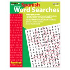 Spanish In A Flash Word Searches 1