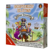 Context Clues Pirate Treasure Red