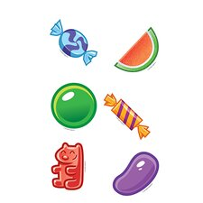 <strong>Edupress</strong> Candy Mini Accents (Set of 6)