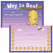 Punch Card Awards Way To Bee