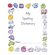 My Spelling Dictionary 10-pk