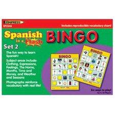 Spanish In A Flash Bingo Set 2