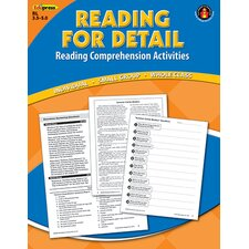 Reading Detail Comprehension Bk