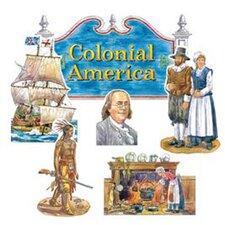 Colonial America Bulletin Board Set