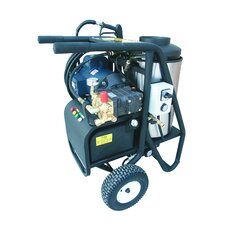 SH Series 2000 PSI Hot Water Electric Diesel Pressure Washer with 5 HP