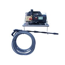 1450 PSI Cold Water Electric Wall Mount Pressure Washer with Electric Cut-Out Thermal Relief