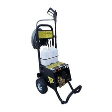 1450 PSI Cold Water Electric MXD Cart Pressure Washer with Electric Cut-Out Thermal Relief