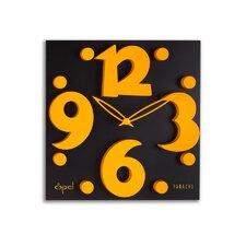 "12.8"" Raised Figure Designer Wall Clock"