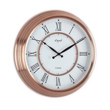 """15.44"""" Round Antique Look Wall Clock"""