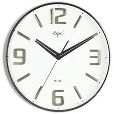 "<strong>Opal Luxury Time Products</strong> 14.32"" Molded Arabic Numeral Wall Clock"