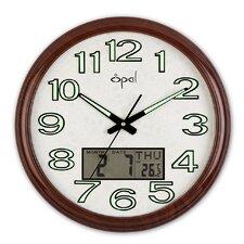 17.6'' Round Analog Digital Wall Clock