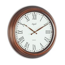 "<strong>Opal Luxury Time Products</strong> 15.44"" Antique Look Wall Clock"