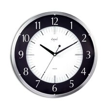 """14"""" Round Dome Glass Wall Clock"""