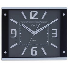 Oversized Bold Numbered Wall Clock