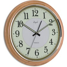 "15"" Round Luminous Dial Wall Clock"