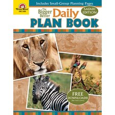The Bigger Better Daily Plan Book