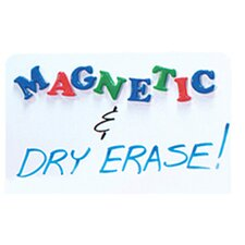 "Magnetic Dry Erase 1' 6"" x 2' Whiteboard"