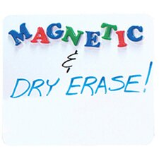 "Magnetic Dry Erase 9"" x 1' Whiteboard"