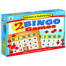 Addition & Subtraction Bingo