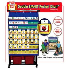 Double Smart Pocket Chart 34 X 49