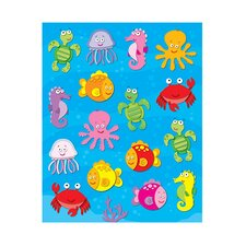 Sea Life Shape Stickers 96pk