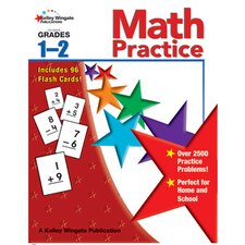 Math Practice Gr 1-2 W/flash Cards