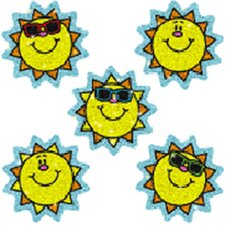 Dazzle Stickers Suns 75-pk Acid &