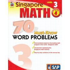 70 Must Know Word Problems Level 3
