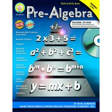 Pre-algebra Activity Book Gr 5-8