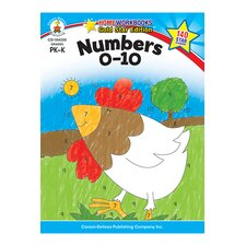 Numbers 0-10 Home Workbook Gr Pk-k