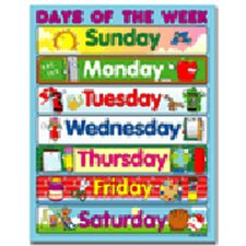 <strong>Frank Schaffer Publications/Carson Dellosa Publications</strong> Chart Days Of The Week