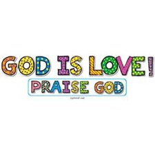 God Is Love Bb Sets 6-pk Christian