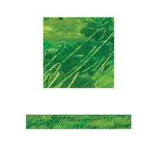 Squiggly Green Straight Border