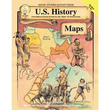 Us History Maps Gr 5-8