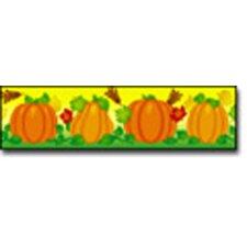 Border Pumpkins Straight