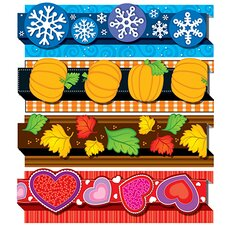 <strong>Frank Schaffer Publications/Carson Dellosa Publications</strong> Seasonal Pop-its Border Set