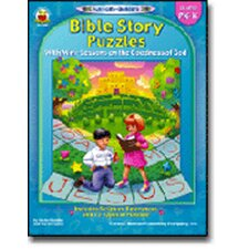 Bible Story Puzzles Gr Pk-k