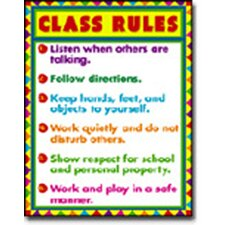 <strong>Frank Schaffer Publications/Carson Dellosa Publications</strong> Chartlet Class Rules 17 X 22