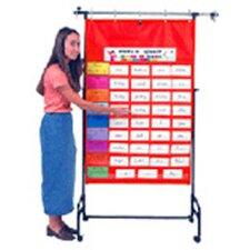 Original Pocket Chart Red