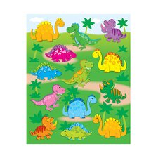 <strong>Frank Schaffer Publications/Carson Dellosa Publications</strong> Dinosaurs Shape Stickers 78pk