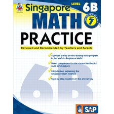 Math Practice Level 6b Gr 7