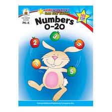 Numbers 0-20 Home Workbook Gr Pk-k