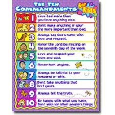 The Ten Commandments For Kids
