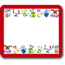 Name Tags Kid-drawn Art 40/pk