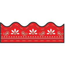 Border Red Bandana 36 Straight