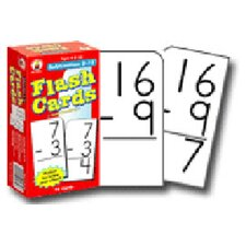 Flash Cards Subtraction 0-12