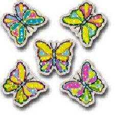Dazzle Stickers Butterflies 75-pk