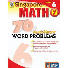 70 Must Know Word Problems Level 6