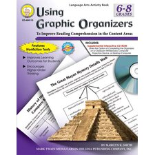 <strong>Frank Schaffer Publications/Carson Dellosa Publications</strong> Using Graphic Organizers Book